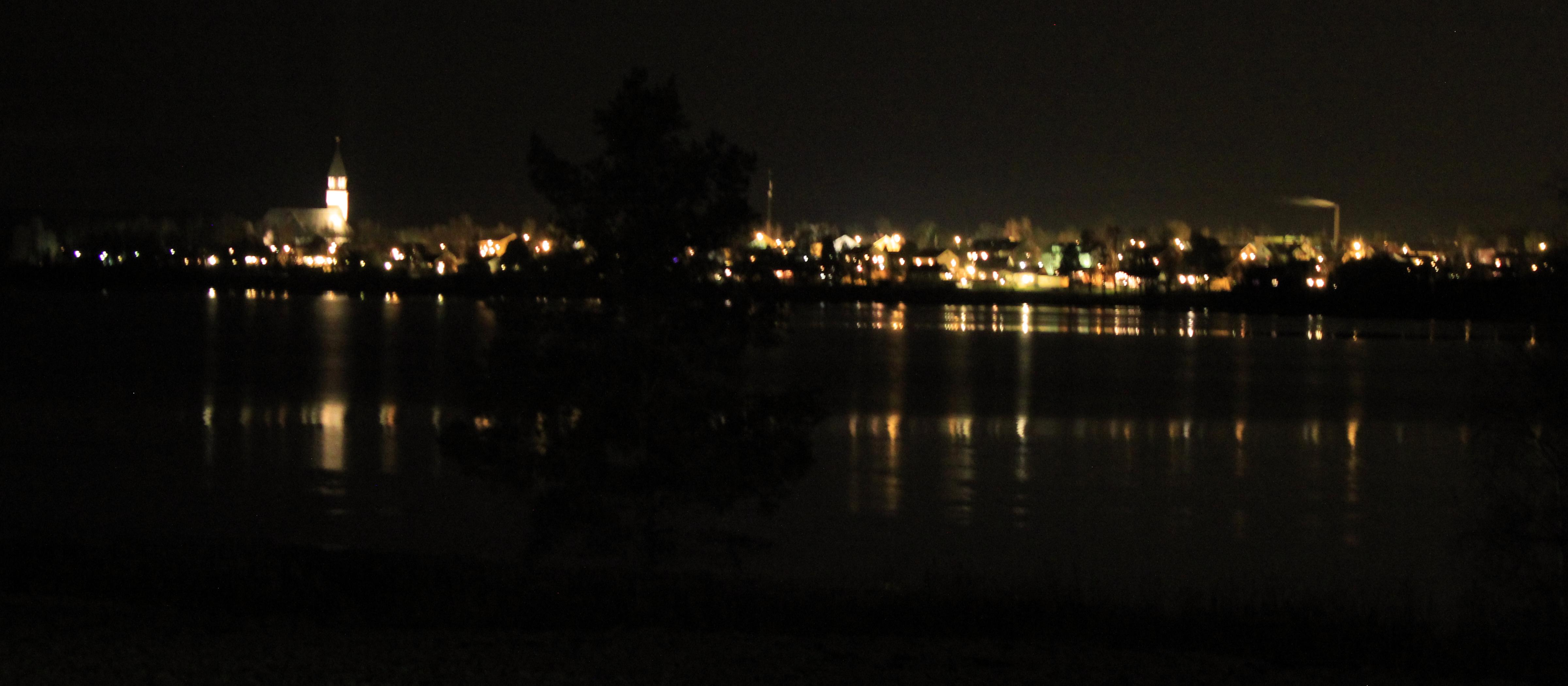 Burträsk från Skarviken klockan 02:30 2011-11-19